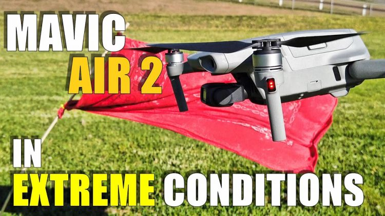 DJI MAVIC AIR 2 Flight Test Review – EXTREME WINDS!.. Will it FLY AWAY? How Smooth & Precise?
