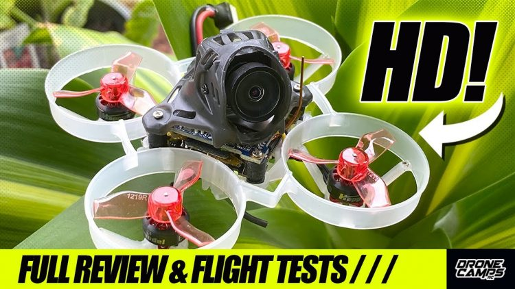 WORLD'S SMALLEST HD DRONE! – Happymodel Mobula6 HD – FULL REVIEW & FLIGHTS