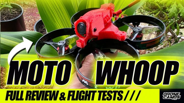 SPORTY!!! – HGLRC Motowhoop 85mm – FULL REVIEW & FLIGHTS ?