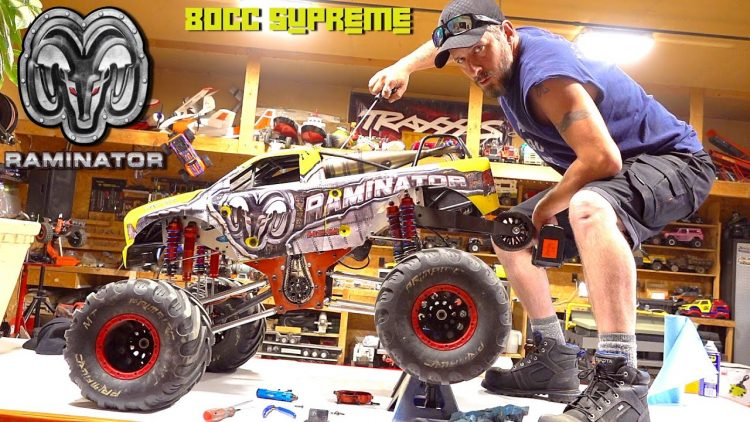 "BROKE IT! SUPREME 80cc SUPREME GAS ENGINE – BLOWN TRANSMISSION on ""TOY"" RAMINATOR? 