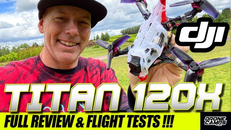 TAKE MY MONEY!!! – GEELANG DJI TITAN 120X Quad – FULL REVIEW & FLIGHTS