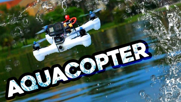 AQUACOPTER! – flying drones over water…