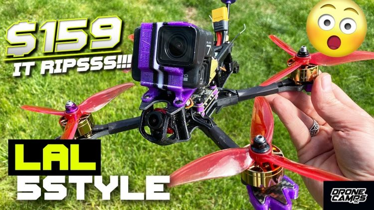 BEGINNER FPV DRONE $159! – EACHINE LAL 5STYLE – FULL REVIEW & FLIGHTS ?