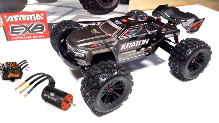 "ARRMA KRATON EXB ""EXTREME BASHER"" FULL OPTION ROLLER BUILD UP w/ SPEKTRUM FIRMA ESC 