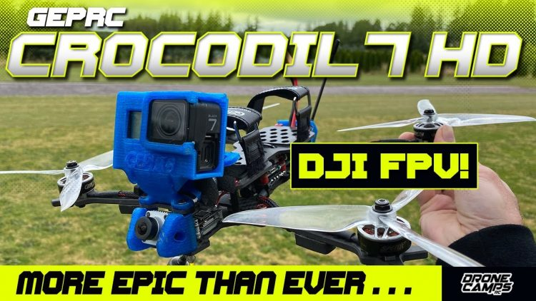 BEST LONG RANGE FPV QUAD – Geprc Crocodil 7 HD with DJI Caddx Vista – REVIEW, & EPIC FLIGHTS! ?