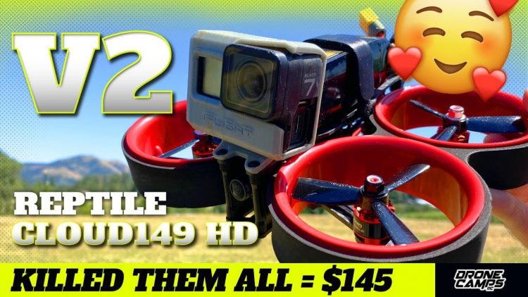 KILLED THEM ALL $145! – Reptile Cloud149 HD V2 Cinewhoop – FULL REVIEW & FLIGHTS