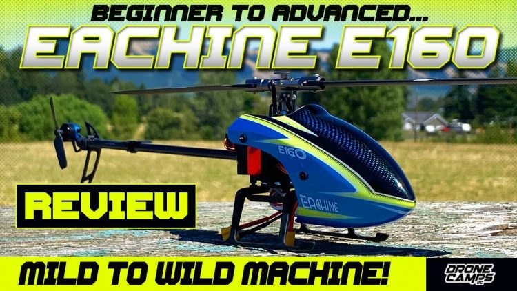 BEGINNER RC HELICOPTER! – Eachine E160 RTF Helicopter – REVIEW & FLIGHTS