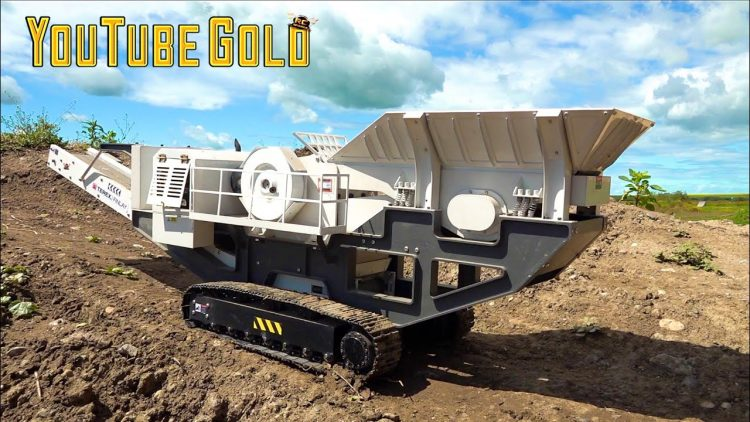 "YouTube GOLD! ""HIGH ROLLER"" BUYS the ""YTG MINE EXPERIENCE"" – ROCK CRUSHER! (S3, E12) 