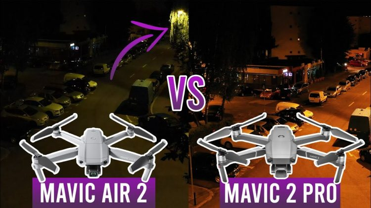 Mavic Air 2 vs Mavic 2 Pro (Low light footage comparison)