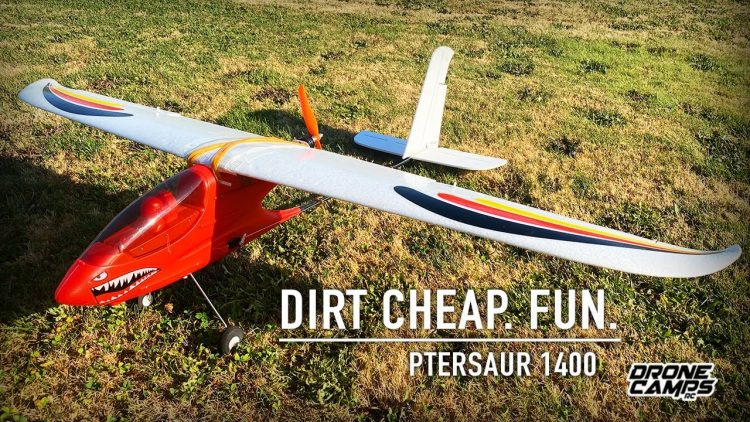$100 RC AIRPLANE JUST BROKE THE INTERNET