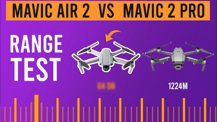 Mavic Air 2 Vs Mavic 2 Pro (Europe city Range Test)