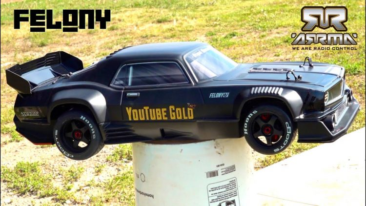 BURNT RUBBER & UNBOXiNG – 2020 BRAND NEW ARRMA FELONY RESTO-MOD MUSCLE CAR 6S BLX! | RC ADVENTURES