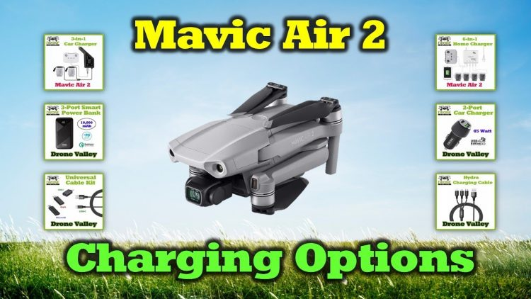 Mavic Air 2 – Smart Charging Options To Get You Up In The Air Quickly