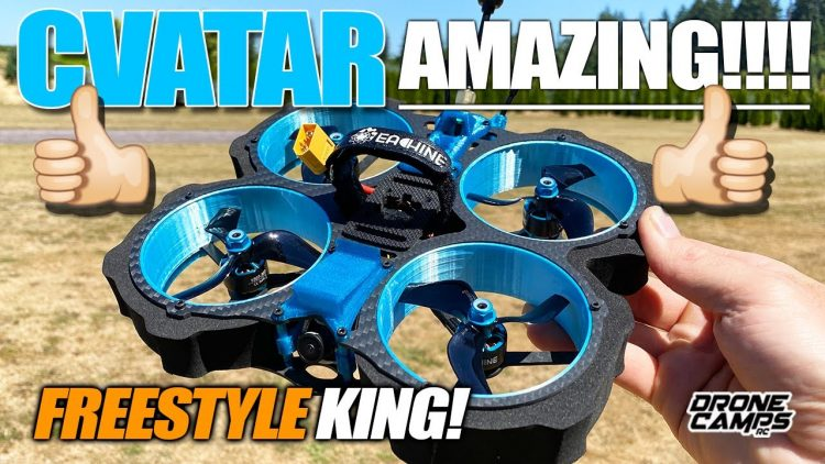 BEST FREESTYLE CINEWHOOP? – NEW' EACHINE CVATAR – FULL REVIEW & FLIGHTS