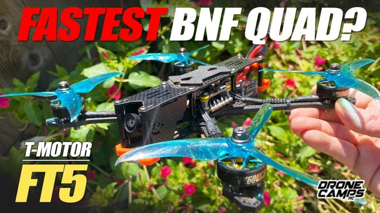 FASTEST BNF QUAD? – T-Motor FT5 HD Freestyle Race Quad – FULL REVIEW & FLIGHTS