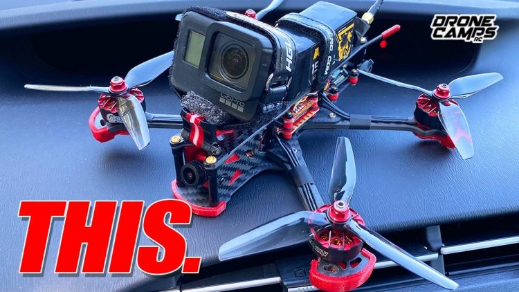 WICKED FREESTYLE + GPS! – HGLRC Sector 5 V3 Fpv Drone – REVIEW & FLIGHTS