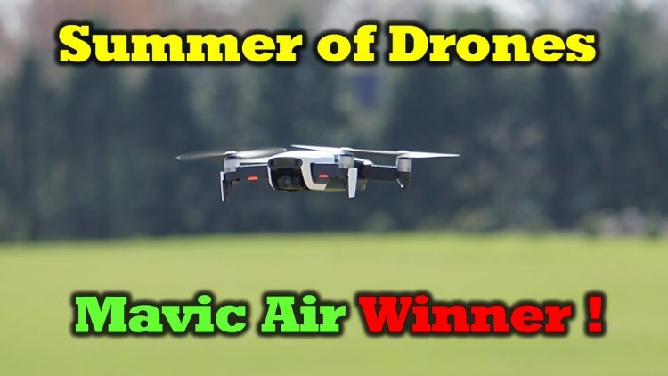 Summer of Drones – Mavic Air Winner!