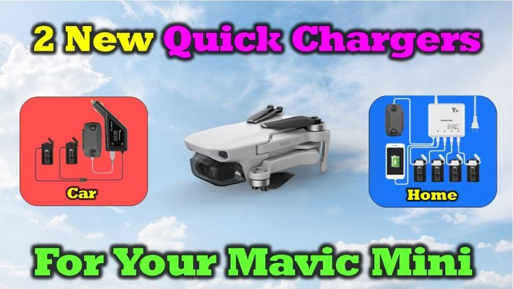 2 New Quick Charging Options For The Mavic Mini