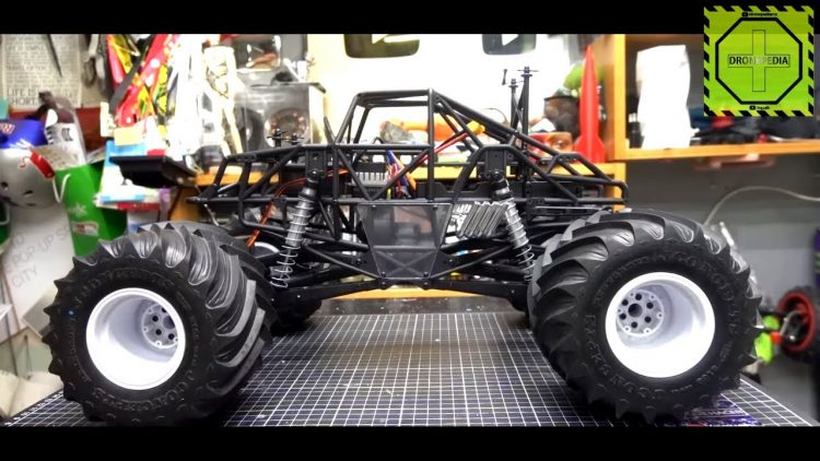 SMT10 Raw Builders kit de Axial Racing Proyecto Monster truck RC Capitulo 4°| DRONEPEDIA