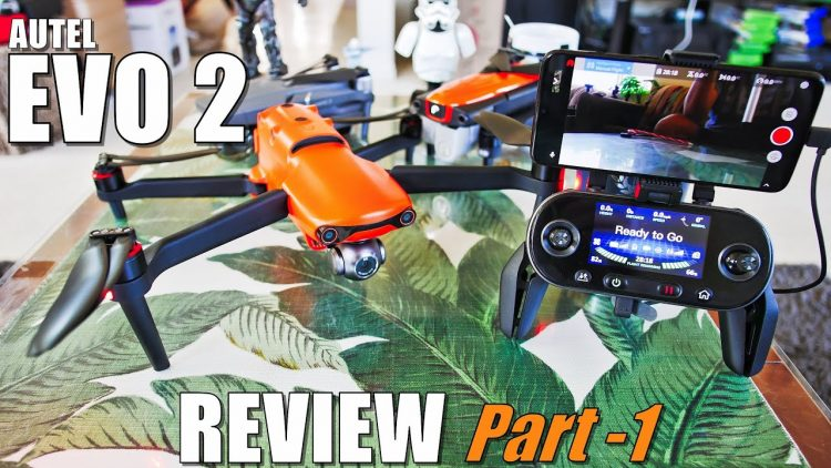 Autel Evo 2 Review – Part 1 In Depth – (Unboxing, Inspection, Compare, Setup, Updating! Pros & Cons)