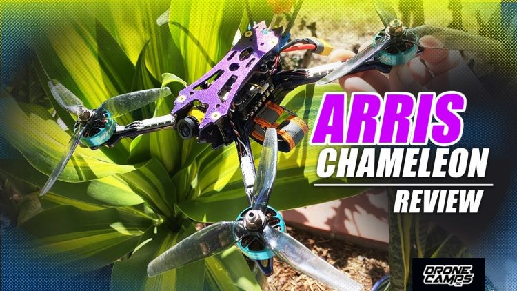 FPV RACE QUAD FERRARI!!! – ARRIS CHAMELEON 5″ Freestyle Drone – REVIEW & FAST FLIGHTS