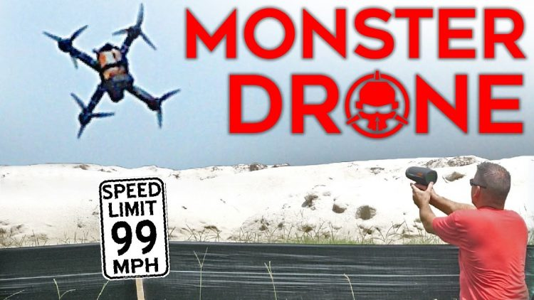 12S MONSTER Drone! – 50V of power!