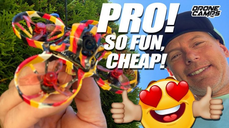 MOST FUN WITH A WHOOP IN 2020! – Eachine DE65 PRO 2S Whoop with Crossfire – REVIEW & FLIGHTS! ?