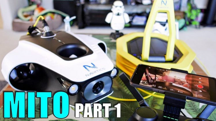Navatics MITO Solar 500m Wireless Underwater ROV Review – Part 1 – [Unboxing, Inspection, Setup]