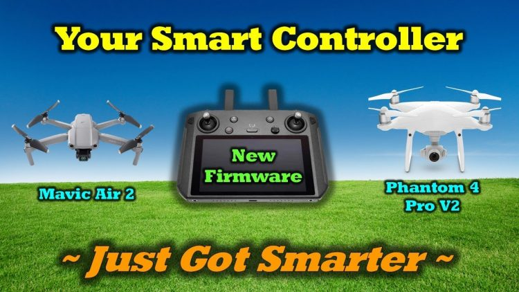 Mavic Air 2 Now Works With The DJI Smart Controller