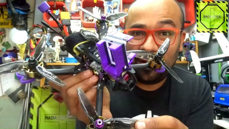 Drone de carreras Eachine LAL 5 Style 4S WOW… aunque tuve un accidente :( | DRONEPEDIA