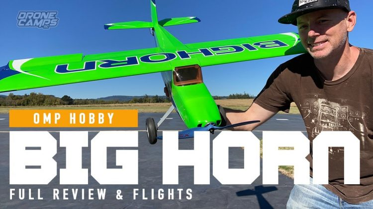 BEGINNER RC AIRPLANE to 3D!!! – OMP Hobby BIGHORN 49 PRO Rc Airplane – REVIEW & FLIGHTS ?