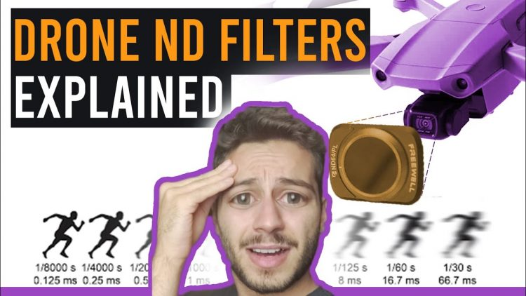 Drone ND Filters Explained (How they work and are they Necessary?)