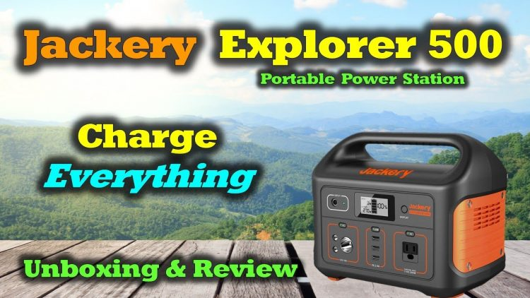 Jackery Power Station 500 Full Review – Incredible | Portable | Powerful