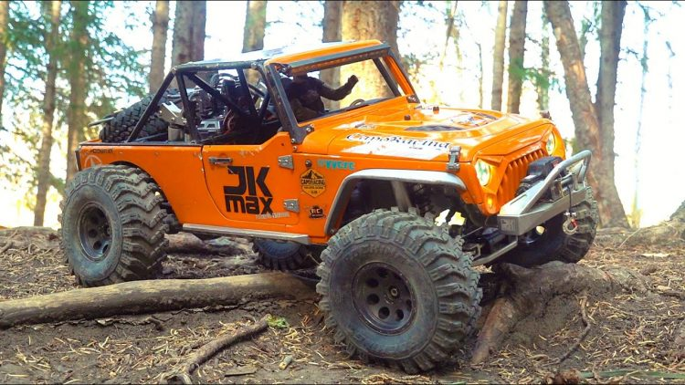 CAPO JEEP JK MAX TOUGHNESS (ROLL OVER) TEST & HiLL CLiMB! AiR-RiDE SUSPENSiON | RC ADVENTURES