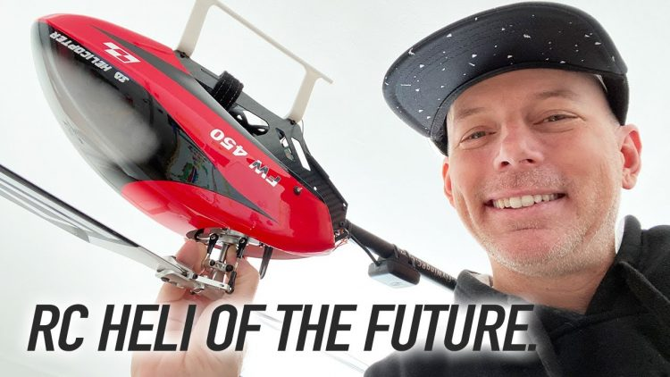 RC HELICOPTER OF THE FUTURE – Flywing FW450 ???