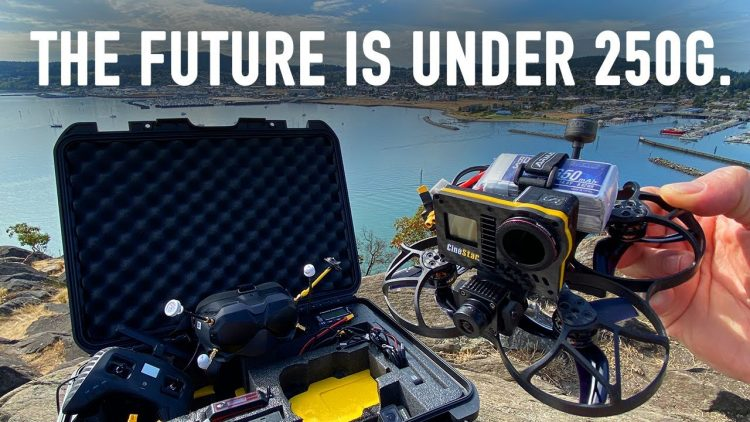 The FUTURE of DRONE FILMING – Aerialvation Cinestar
