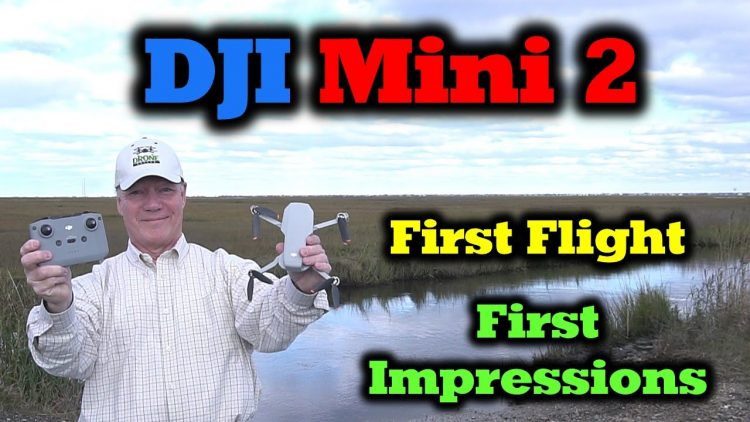 DJI Mini 2 – First Flight | 4K Footage | First Impressions