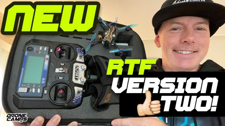 PERFECT FPV DRONE FOR BEGINNERS – NEW' Eachine NOVICE II V2 RTF – REVIEW & FLIGHTS ?