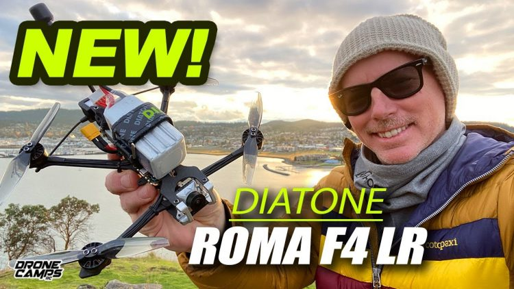 "LONG RANGE Fpv under 250g – Diatone ROMA F4 LR 4"" Drone – REVIEW & FLIGHTS"