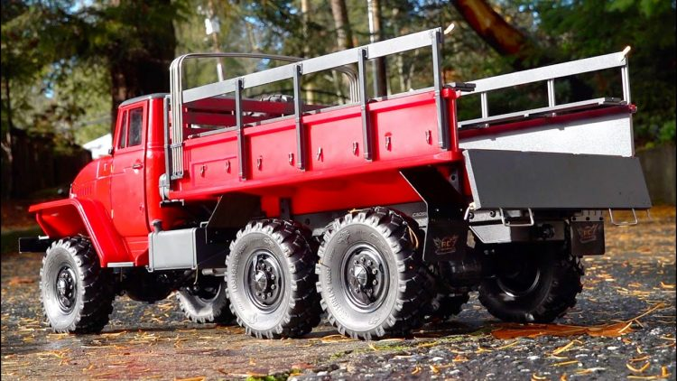 BUSH FIRE TRUCK PROJECT – URAL 6×6 PT 5 – IT MOVES! | RC ADVENTURES