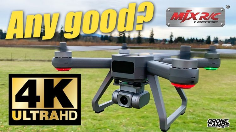 4K Drone for $167! – MJX Bugs20 4K GPS Drone – Not a bad drone for the money ??