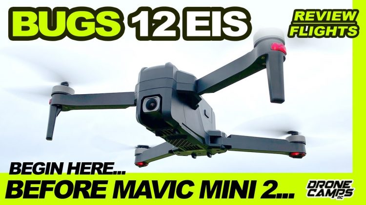 $175 low cost 4K Drone – MJX Bugs 12 EIS is not bad for your first drone! 🏆
