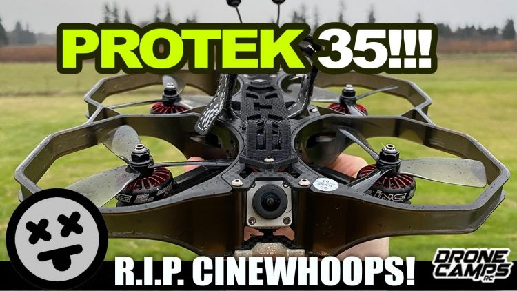 THIS JUST KILLED CINEWHOOPS – iFlight PROTEK 35 Fpv Cinema Drone – REVIEW & FLIGHTS