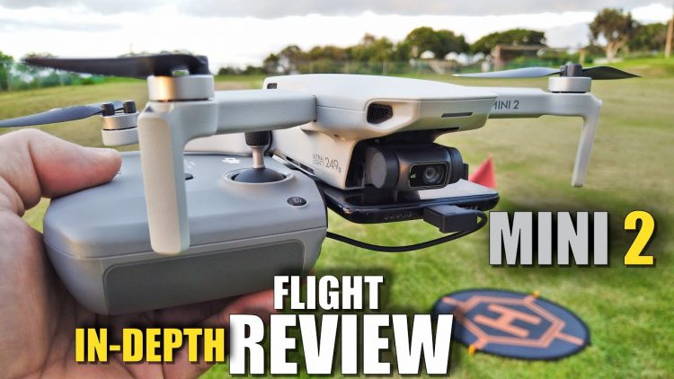 DJI MINI 2 Flight Test Review IN DEPTH – How good is it…REALLY!?