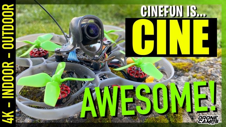 CINE-AWESOME! – 4K EACHINE CINEFUN Drone Whoop – FULL REVIEW & FLIGHTS 🏆👍🏻
