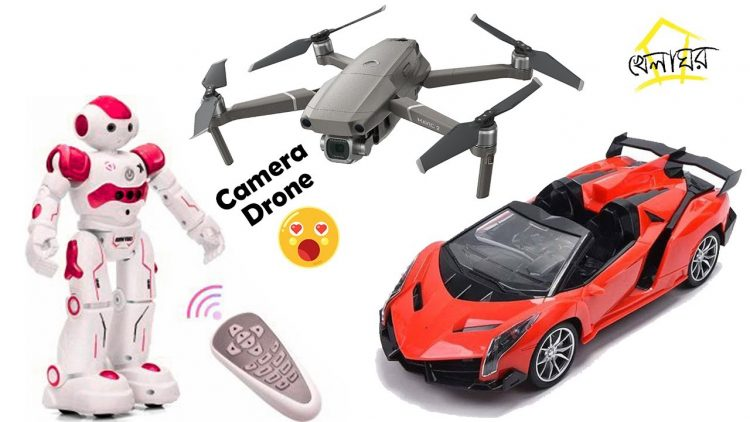 12 type of remote control toys review and BD price. Drone, Robot And Cars