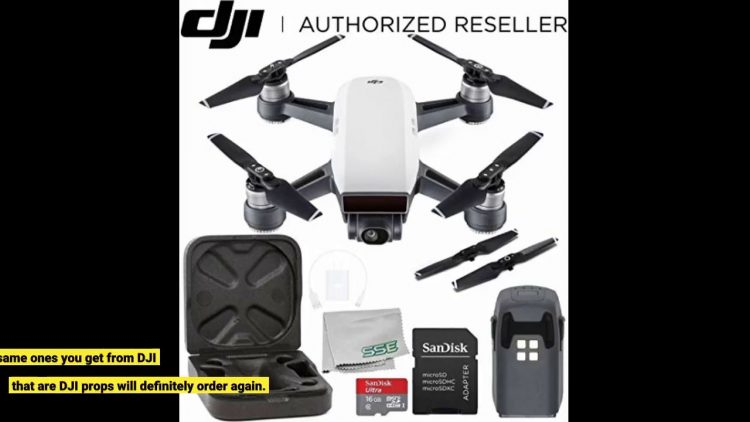 Review DJI Genuine 4730s Quick Release Folding Propellers For Spark Drone, 2 Pairs