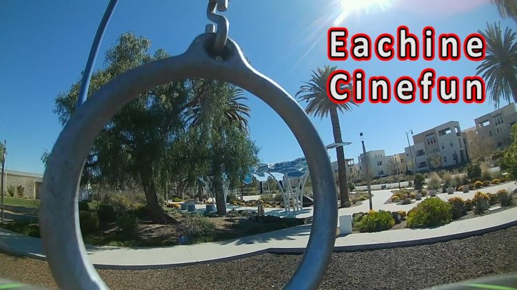 Better than Expected!! // Eachine Cinefun Cinewhoop Review 😁