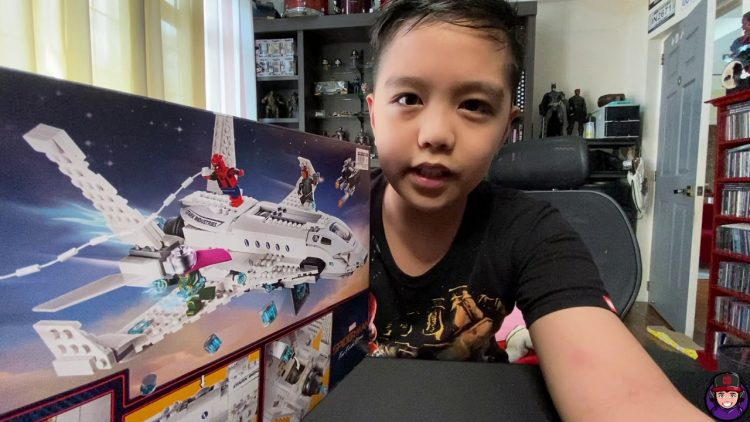 LEGO Stark Jet and The Drone Battle set review