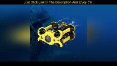 ✅ Review CAMORO RC UNDERWATER DRONE WITH 4K UHD CAMERA AND GPS ROV ROBOT LARGE CAPACITY BATTERY FOR